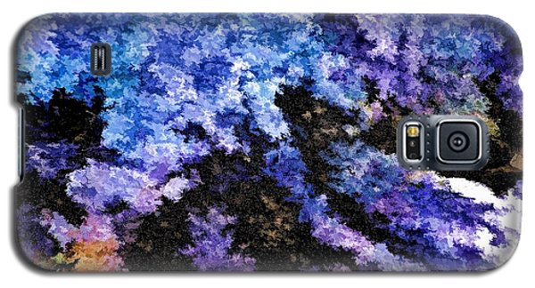Galaxy S5 Case featuring the photograph Abstract Granite by Ludwig Keck