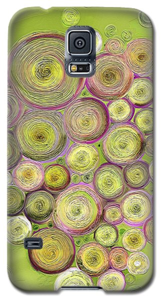 Abstract Grapes Galaxy S5 Case by Veronica Minozzi