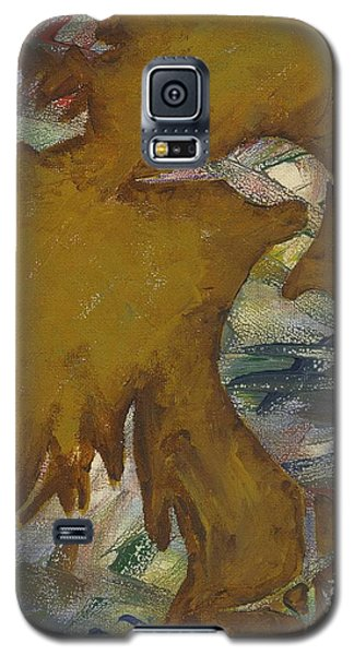 Abstract Heron Galaxy S5 Case