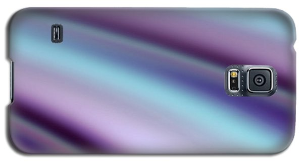 Galaxy S5 Case featuring the digital art Abstract Hues by Liz  Alderdice