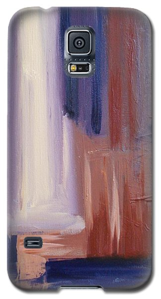 Galaxy S5 Case featuring the painting Abstract I by Donna Tuten