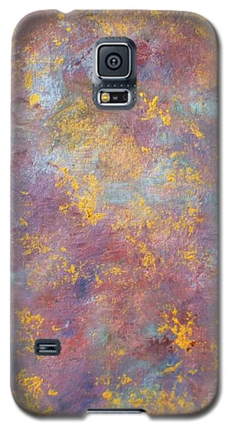 Galaxy S5 Case featuring the painting Abstract Impressions by Donna Dixon