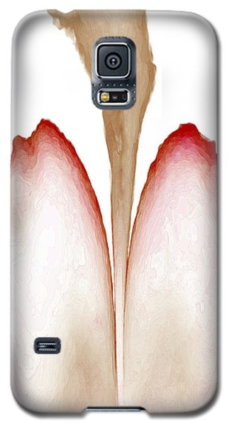 Abstract In Bloom 4 Galaxy S5 Case