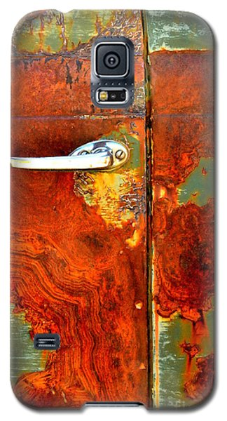 Abstract In Rust 24 Galaxy S5 Case by Newel Hunter