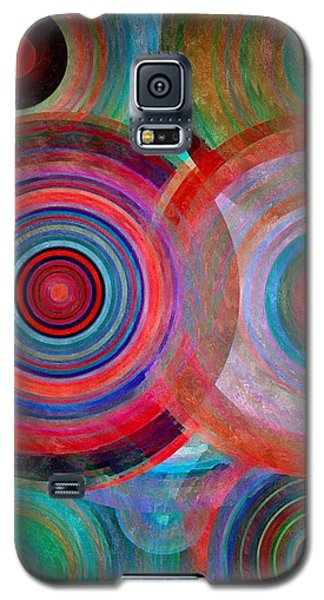 Abstract In Silk  Galaxy S5 Case