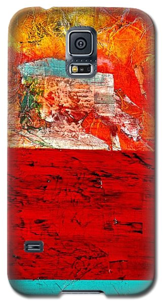Abstract Landscape I Galaxy S5 Case by Carolyn Repka