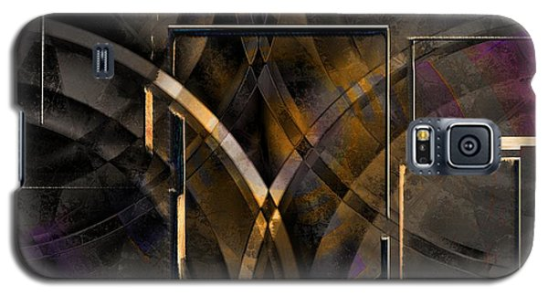 Abstract Lines Galaxy S5 Case