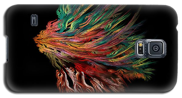 Abstract Lion's Head Galaxy S5 Case