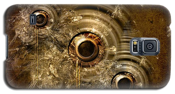 Galaxy S5 Case featuring the digital art Abstract Machine by Alexa Szlavics