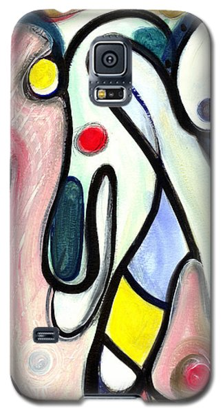 Abstract Mystery Galaxy S5 Case