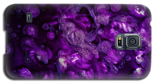 Galaxy S5 Case featuring the painting Abstract Nail Polish Jg11 by Jasna Gopic