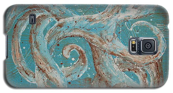 Abstract Octopus Galaxy S5 Case