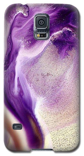 Abstract Original Purple Cobra By Kredart Galaxy S5 Case