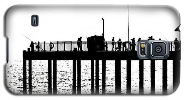 Abstract Pier Galaxy S5 Case by David Warrington