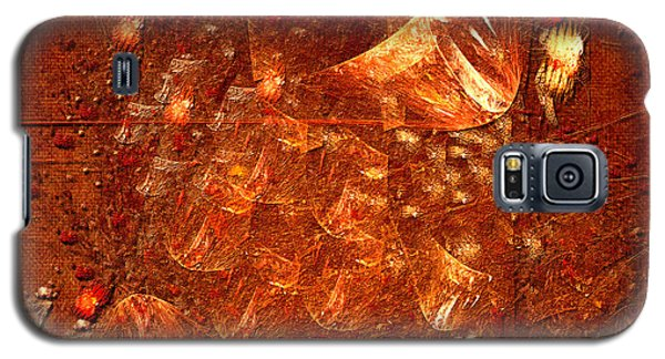 Galaxy S5 Case featuring the digital art Abstract Power by Alexa Szlavics