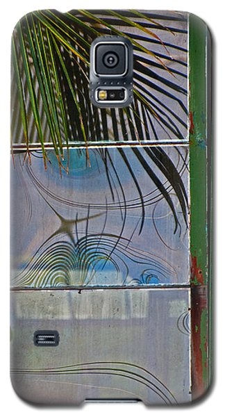 Galaxy S5 Case featuring the photograph Abstract Reflection by Jani Freimann