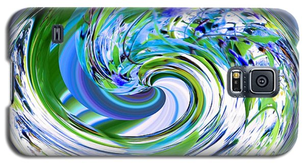 Abstract Reflections Digital Art #3 Galaxy S5 Case by Robyn King