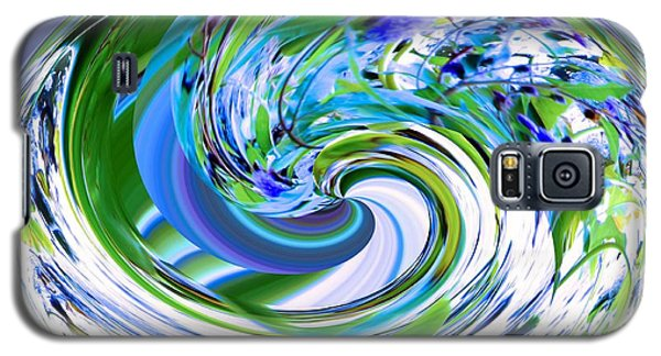 Abstract Reflections Digital Art #3 Galaxy S5 Case