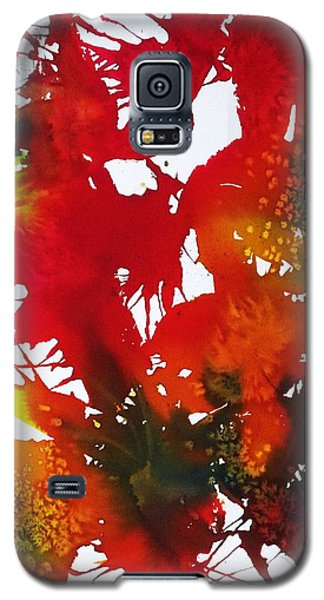 Abstract - Riot Of Fall Color II - Autumn Galaxy S5 Case by Ellen Levinson