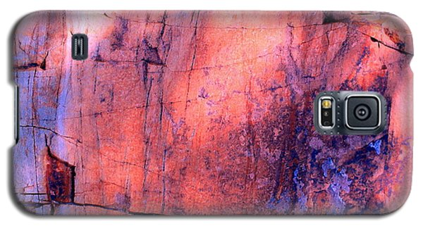 Galaxy S5 Case featuring the photograph Abstract Rock 3 by M Diane Bonaparte