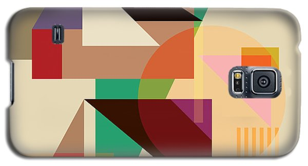 Abstract Shapes #4 Galaxy S5 Case by Gary Grayson
