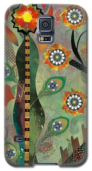 abstract still life painting - Ikebana II Galaxy S5 Case