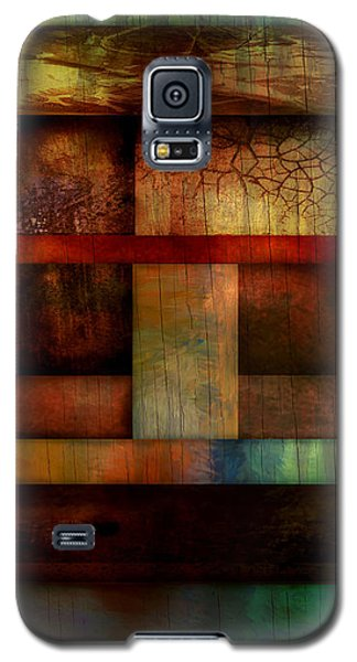 Abstract Study Five  Galaxy S5 Case by Ann Powell