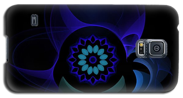 Galaxy S5 Case featuring the digital art Abstract Surprise by Hanza Turgul
