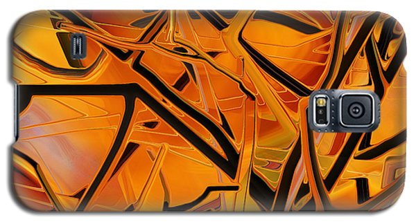 Abstract - Tangled Brush Galaxy S5 Case