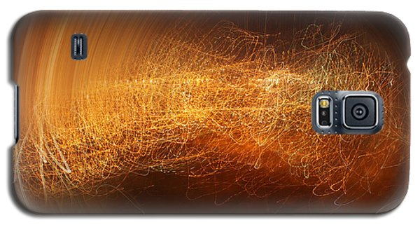 Abstract Time Galaxy S5 Case