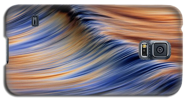 Abstract Wave 2  C6j7799 Galaxy S5 Case