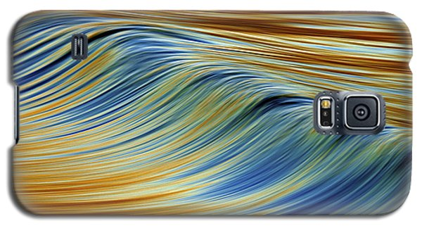 Galaxy S5 Case featuring the photograph Abstract Wave C6j7857 by David Orias