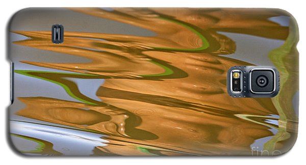 Abstract Wave Reflection Galaxy S5 Case