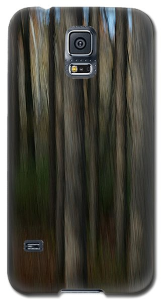 Galaxy S5 Case featuring the photograph Abstract Woods by Randy Pollard