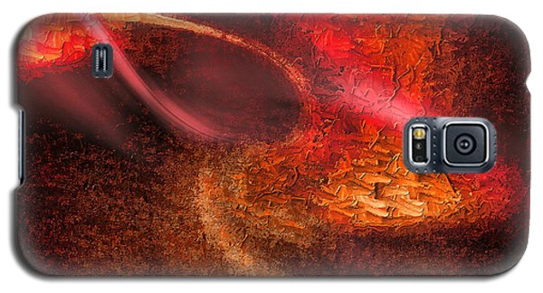 Galaxy S5 Case featuring the painting Abstract Xxiv by Tyler Robbins