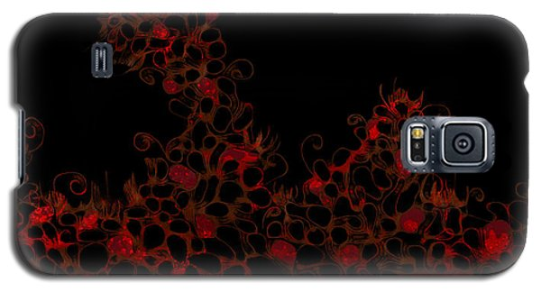 Galaxy S5 Case featuring the digital art Abstract3 by Shabnam Nassir