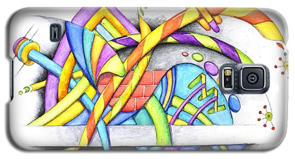 Abstracted Galaxy S5 Case