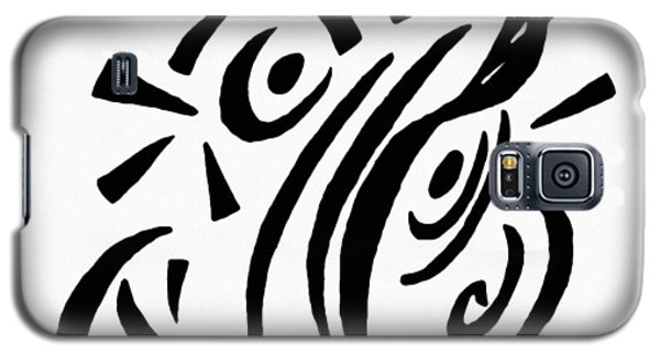 Galaxy S5 Case featuring the painting Astratto - Abstract 13 by Ze  Di