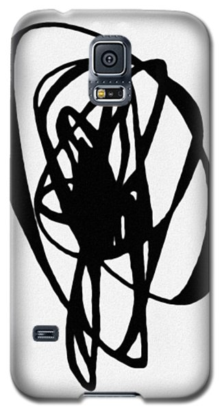 Galaxy S5 Case featuring the painting Astratto - Abstract 19 by Ze  Di
