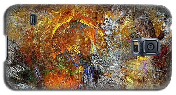 Abstraction 435-08-13  Marucii Galaxy S5 Case