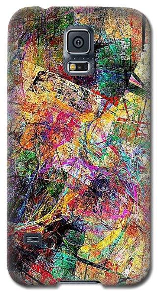 Abstraction 442-09-13 Marucii Galaxy S5 Case