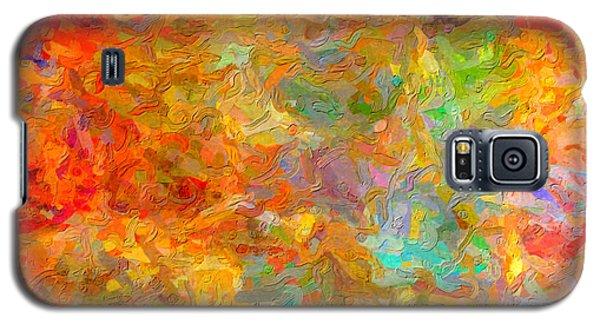 Abstracto Impasto Galaxy S5 Case