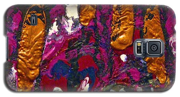 Abstracts 14 - The Deep Dark Woods Galaxy S5 Case by Mario Perron