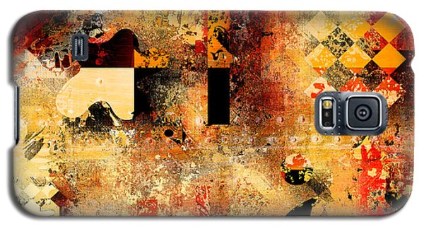 Abstracture - 103106046f Galaxy S5 Case