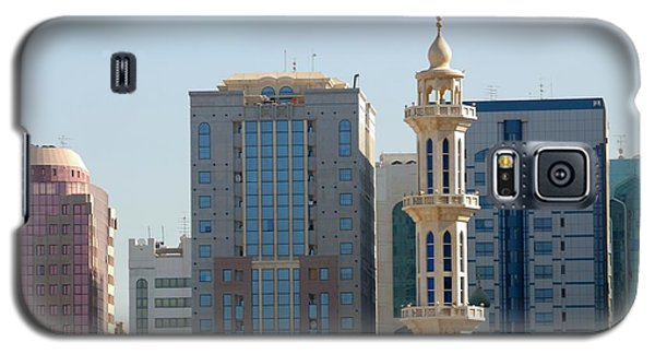 Galaxy S5 Case featuring the photograph Abu Dhabi City Center by Steven Richman