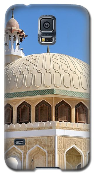 Galaxy S5 Case featuring the photograph Abu Dhabi Mosque by Steven Richman