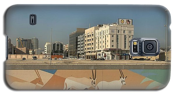 Galaxy S5 Case featuring the photograph Abu Dhabi Outskirts by Steven Richman