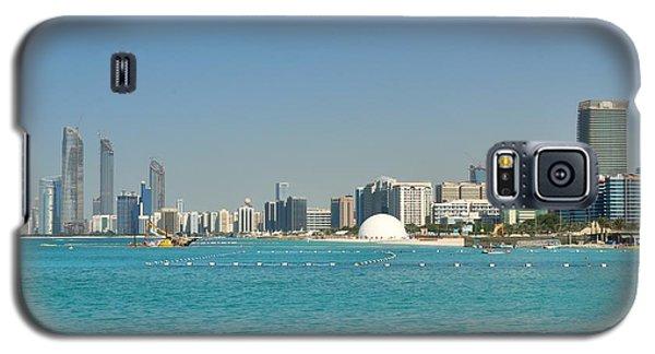 Galaxy S5 Case featuring the photograph Abu Dhabi Skyline by Steven Richman