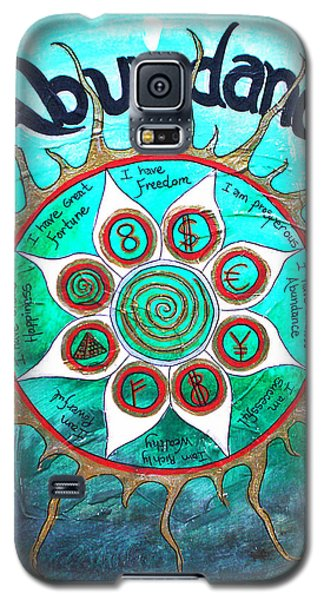 Abundance Money Magnet - Healing Art Galaxy S5 Case