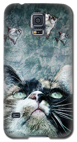 Galaxy S5 Case featuring the photograph Abyss Cat Nr 2 by Laura Melis